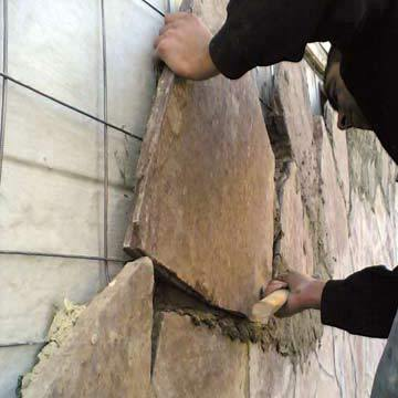 Монтаж камня